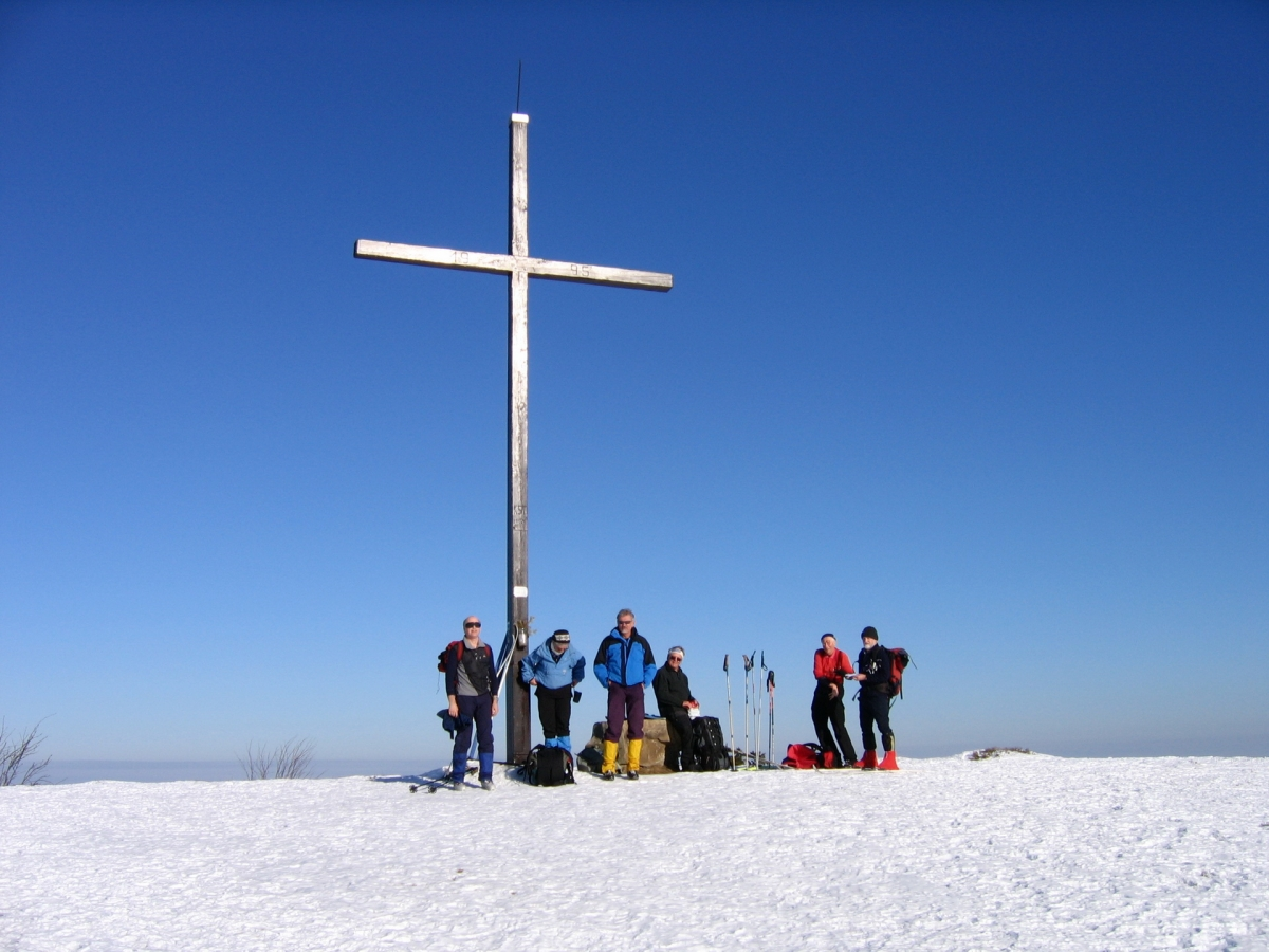 Cross-country touring in Orava