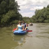 Canoeing in Small Danube