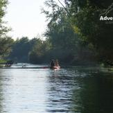 Canoeing in Mosoni Danube Arms