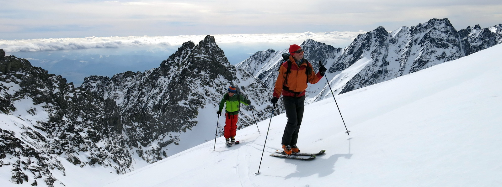 Skitouring High Tatras